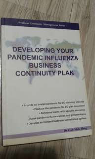Developing your pandemic influenza business continuity plan