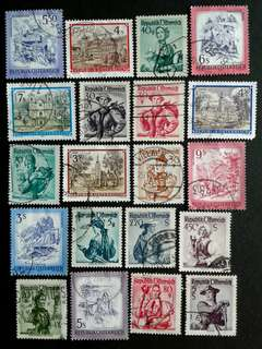 Austria vintage stamps#1