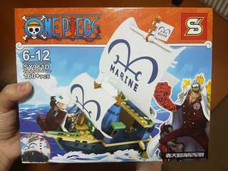 BNIB One Piece Toy Brick - Akainu
