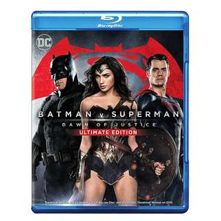 Batman Vs Superman Dawn of Justice Ultimate Edition Blu-ray
