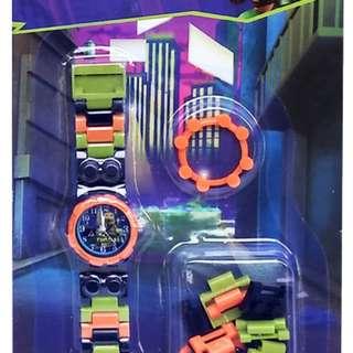 Jam Tangan Anak JAM TANGAN LEGO NINJA TURTLES - 0428