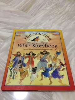 Children book, The Amazing Bible Story Book