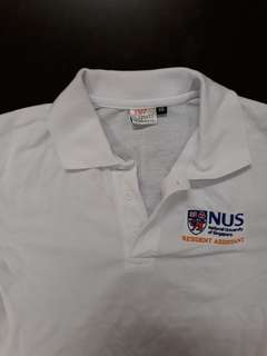 NUS Resident Assistant polo tee