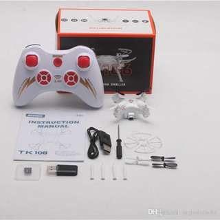 TK106 Mini RC Drone Helicopter Quadcopter with HD Camera 2.4G