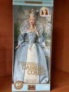 Barbie Dolls of the world: Princess of Danish Court