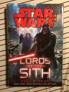 (REPRICED) Star Wars: Lords of the Sith - Paul S. Kemp