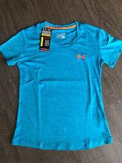 Bright Blue Under Armour Ladies T-shirt