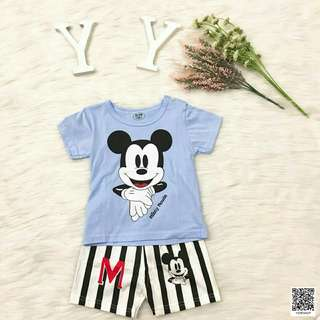 Mickey top and pants kids wear