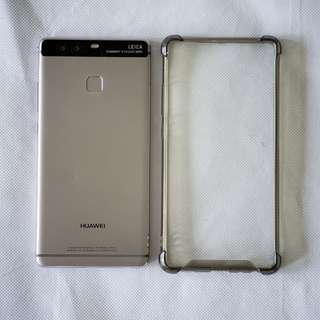 Preloved Huawei P9 Titanium GREY 32GB great condition + 16gb sd card