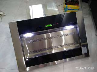 Kitchen Stainless Steel Hood Chimney