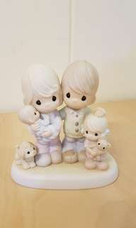 Precious Moments Figurine - Thankful for My Family