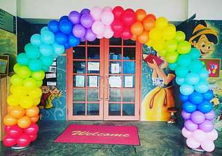 Events deco balloon arch