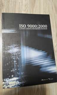 Iso 9000:2000 a guide to quality management standards