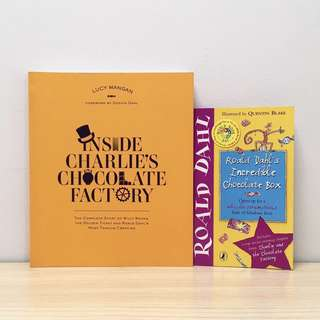 Inside Charlie's Chocolate Factory + Free Book
