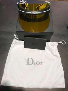 現貨 Christian Dior Club 1 visor sunglasses 太陽眼鏡 帽