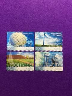 2004 Australia Renewable Energy 4 Values Used Set