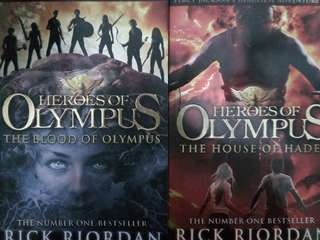 Percy Jackson Heroes of Olympus House of Hades and Blood of Olympus
