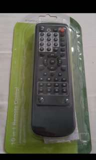 (Brand New) Super Light Weight 10 In 1 Remote Control.  Suitable For Most Tv, Vcr, Txt, Cable, Hifi, Cd Code, Ld, Aux, Sat, Dss, DVD.  5 Seconds For Setup.  《全新》超輕巧10合1 遙控。適合大部分電視機。超級方便,5秒setup.  1. 請按 setup 5秒,直到紅燈長著。   Made in UK🇬🇧  英國製造🇬🇧