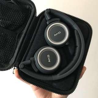 AKG K450 折疊耳機 98新