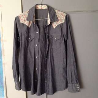 日本漂亮襯衫,M