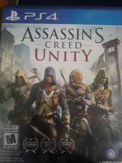 Assassin creed unity and Infamous second son