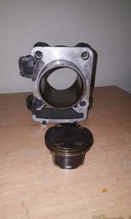 KTM block & piston Duke 200