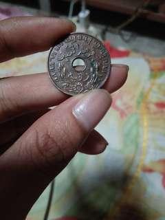 Uang logam india 1G tahun 1939