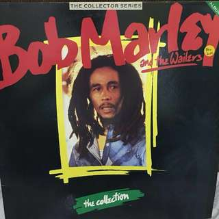 2 vinyl Lp records : Bob Marley & the wailers - collector series