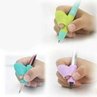 3PCS/Set Children  Study   Silicon Pencil Holder Pen Writing Aid Grip Posture Correction Tool  Levert