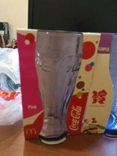Brand New Coca-Cola Glasses For Sale
