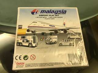MAS airport play set