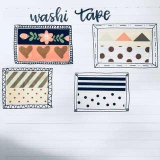 Patterns and Prints Washi Tape