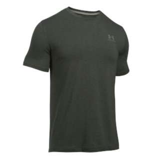 Under Armour Tee (men, green) - size S