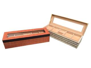 Native Watch & Jewelry Box with removable compartment