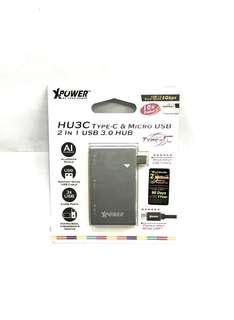 X power Type c & Micro Usb Hub