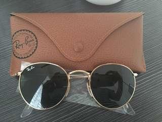Genuine Rayban round sunglasses ORB3447
