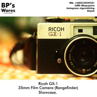 'Ricoh GX-1 35mm Analog/Film Camera prod. 1979 Mekanis Lancar!
