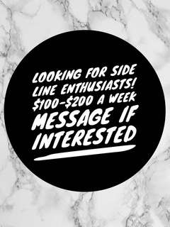 Looking for sideline enthusiasts