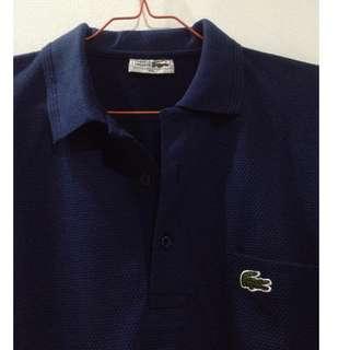 ORIGINAL Lacoste Polo Shirt Navy Blue (Classic)