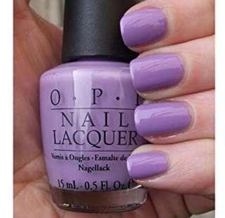 BN OPI Nail Polish Do You Lilac It