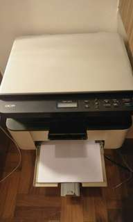 Brother DCP1510 3-in1 Laser Printer ( Print Copy Scanner). Free 1 ream of A4 papers