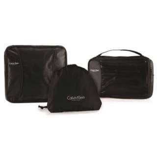 CK Calvin Klein 旅行收納袋套裝 ✈️