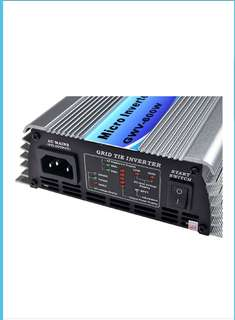 SolarEpic Micro Grid Tie Inverter 600W Stackable w/ MPPT 22-60V DC Input 110V Output