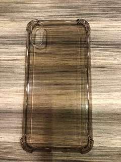 iPhone X clear casing
