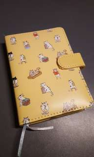 Cat notebook - never used + free shipping