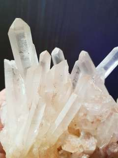 Clear Quartz Clusters Crystal from Madagascar 白水晶族(马达加斯加)