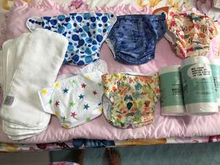 Cloth Diapers - free size