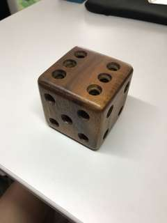 Magic Dice Wooden Brain Teaser Puzzle