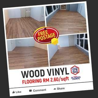 Cheapest Wood Vinyl Flooring Malaysia From RM2.60/sqft
