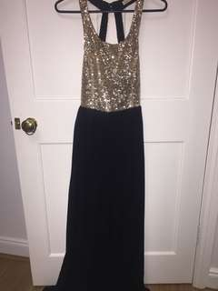 Formal sequin party dress